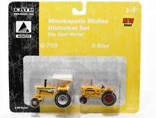 Ertl 1/64 Die Cast Farm Minneapolis Moline Historical Set G-750 5-Star Tractors