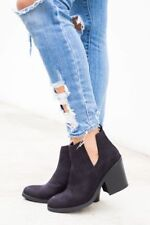 NIB - SODA SHOES Women's 'JAZZER-S' Black BOOTIES - US 6