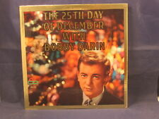 """BOBBY DARIN """"The 25th Day Of December"""" LP 1960 ATCO 33-125 1st Pressing"""