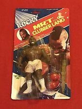 Rocky Figure Mr. T Clubber Lang Phoenix Toys Inc PAC 1983 NIP NEW