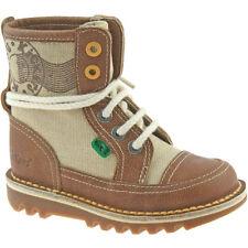 Chaussures marrons Kickers pour garçon de 2 à 16 ans