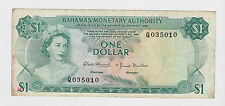 Bahamas - One (1) Dollar, 1968