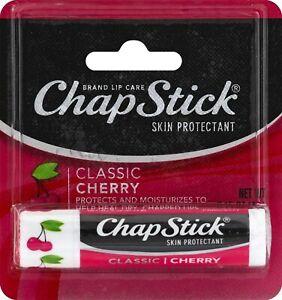 Chapstick Classic Cherry Lip Balm with SPF 4g Pack
