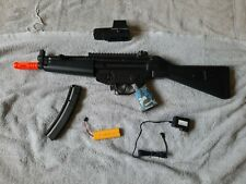 New listing MP5 Airsoft with Battery, Charger & sight