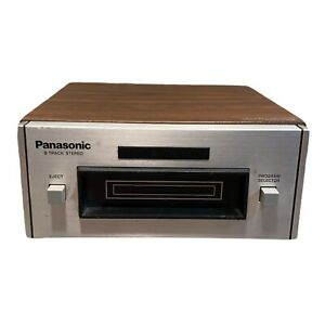 Vintage Panasonic 8-Track Player RS-801AUS -WORKS!