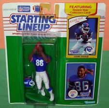 1990 LIONEL MANUEL New York Giants - FREE s/h - last Starting Lineup + 1984 card