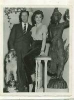 "Rex Harrison Kay Kendall - ""The Constant Husband"" 1955 tv press photo MBX20"
