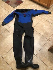 """Dive Rite 905 Drysuit Large Size Boots Measure 12"""""""