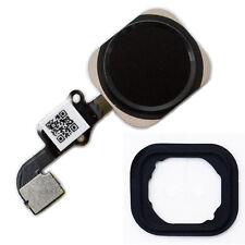Iphone 6 Home Button Câble Flex ID Capteur Touch remplacement menu bouton en caoutchouc noir