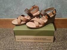 NIB Keen 1014314 Skyline Wedge Brown/Orange Sandal Size 9