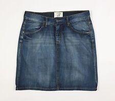 LOGG HM gonna jeans minigonna w28 tg 42 blu azzurro usato donna vita bassa T970