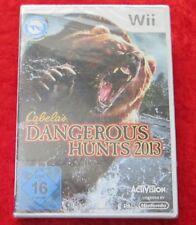 Dangerous Hunts 2013, Nintendo Wii Spiel, Neu, deutsche Version