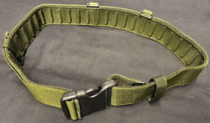 British Military Olive Green PLCE Webbing Belt