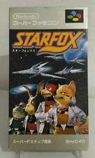 StarFox Star Fox Super Famicon Snes Jap Ntsc Completo Nintendo