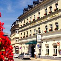 Wanderurlaub im Erzgebirge im 4* Traditionshotel Wilder Mann - Junior Suite & 2P