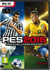 PRO EVOLUTION SOCCER 2016 PC Nuovo e Sigillato