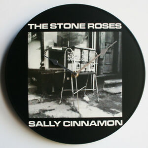 "The Stone Roses - Sally Cinnamon - 12"" Vinyl Record Clock, ian brown, waterfall"
