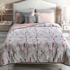Cherry flowers Blanket Sherpa warm & cozy King Size Comforter 1Pc