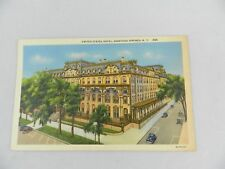 VINTAGE POSTCARD UNITED STATES HOTEL SARATOGA SPRINGS NEW YORK #280