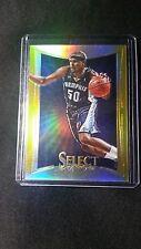 2012-13 Panini Select Zach Randolph Memphis Grizzlies GOLD 4/10 !!!