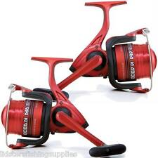 2 x OCEAN MASTER 3BB 80 LINEAEFFE LARGE SEA BEACH FISHING REELS FIXED SPOOL