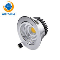 LED Dimmable COB Downlight AC 85-265V Recessed LED Spotlight Ceiling Lamp Light