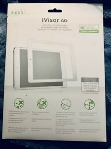 "Moshi iVisor AG White Screen Protector for iPad Air 2 / iPad Pro 9.7"" NEW IN BOX"