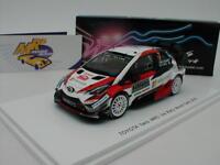"Spark S5957 - Toyota Yaris WRC Rallye Monte Carlo 2018 "" Latvala-Antilla "" 1:43"