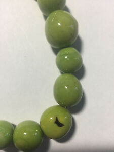 Round Pearl Tagua Nut Beads 16mm to 22mm