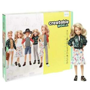 CREATABLE WORLD DELUXE CHARACTER KIT GGT67 DOLL PLAY SET