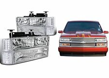 Clear Headlights Marker Lights Corner Lights For 1994-1999 Chevrolet GMC Trucks