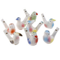 1Pc Chinese ceramic water bird whistle kids baby funny novelty musical toys DD