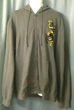 Vintage New with Tag Ed Hardy Mens Snake and Panther 2XL Jacket F/S