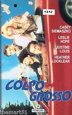Colpo Grosso (1990) VHS Panarecord Video   John Bradshaw