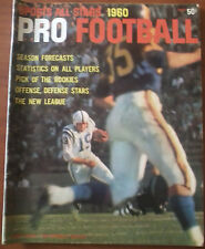 Sports All Stars 1960 Pro Football with Johnny Unitas -  Colts Cover, EX Cond