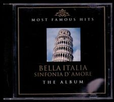 BELLA ITALIA - Most Famous Hits - GERMAN 2 x CD Mops 2003 - 32 Trcks - Near Mint