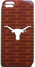 Texas Longhorns Apple iPhone 5 5S SE NCAA Slim Case Plastic Back Hard Snap Cover
