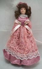 "Porcelain 6"" Doll - Victorian Mother Woman G7653 - 1/12 scale bendable miniature"