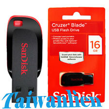SanDisk USB Stick Flash Pen Drive Cruzer BLADE 16GB 16G