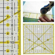 Transparent Quilting Sewing Patchwork Ruler Cutting Tool Craft DIY New Tail E3D3