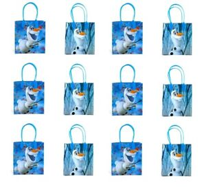 Disney Frozen 2- Olaf 12PCS PARTY GOODIE Bags PARTY FAVOR bags GIFT bags