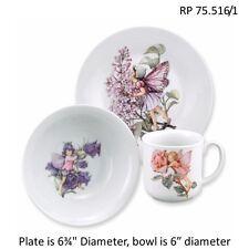 Flower Fairies Porcelain Eating Set Reutter Porcelain