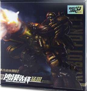 Transformers alloy version M02 Desert Pioneer Automotive Robot toy