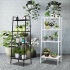 4-Tier Flower Plant Stand Ladder Shelf Multifunctional Storage Rack Bookshelf US