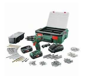 Bosch Akku Bohrschrauber PSR 1800 LI-2 18V 2xAkku mit Systemkoffer 4053423206272