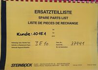 Zündschloss E254 für Steinbock Boss Gabelstapler Hubwagen 3 Pin, 2 Stellungen