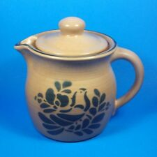 Pfaltzgraff FOLK ART 40 oz Teapot Tea Pot with Lid USA