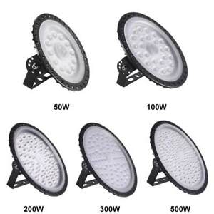 50/100/200/300/500W LED High Bay Light Gas Station Industry Factory Shed Lamp