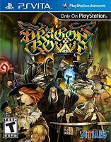 Dragon's Crown [Sony PlayStation Vita PSV, Vanillaware, Online Co-op Action RPG]