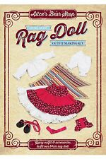 Heirloom Rag Doll Outfit Kit  - Gypsy Outfit to fit 54cm Rag Doll